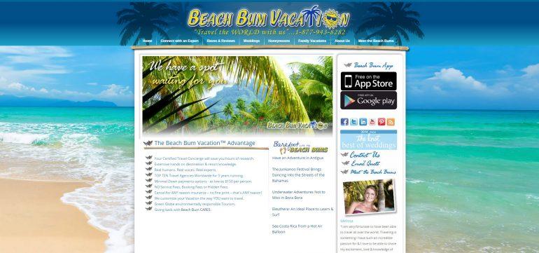 Beach Bum Vacation